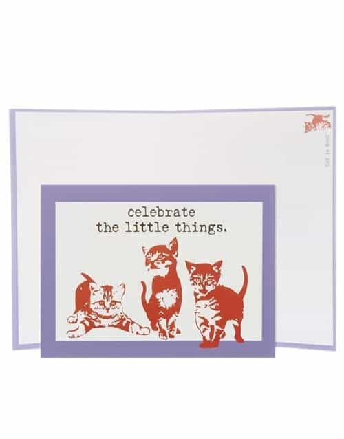 Greeting card, celebrate little things greeting card, celebrate little things