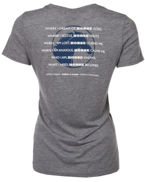 Clearance Priced!! T-shirt: Horse Codependent Women's Fitted