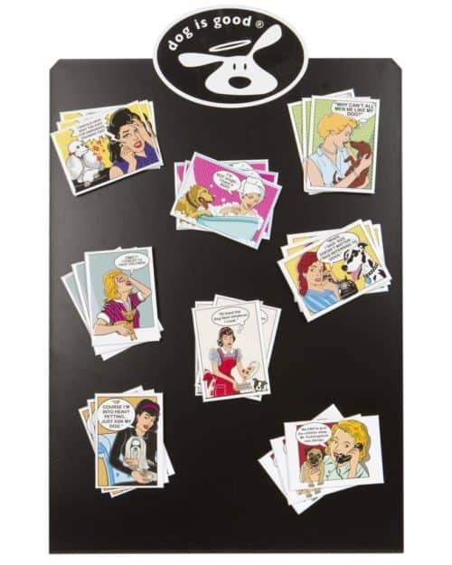 Pop Art Magnet Set