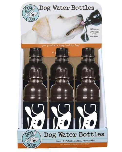 Dog Water Bottle Prepack with Display - D-BOLO-G Design