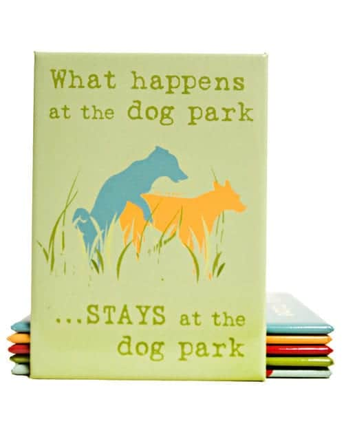 Magnet: What Happens at the Dog Park