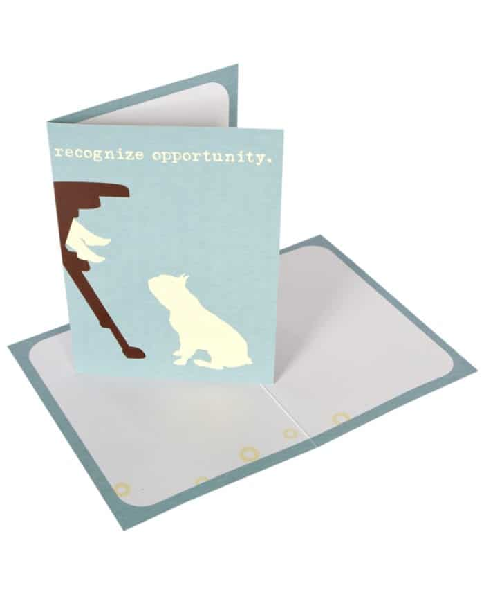 Greeting Card: Recognize Opportunity