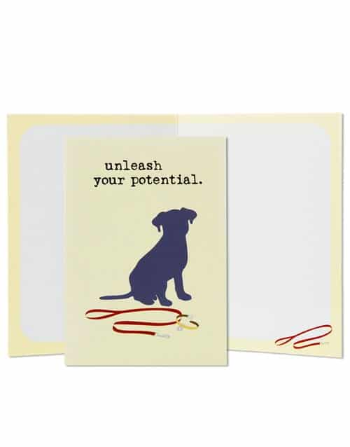 Greeting Card: Unleash Your Potential