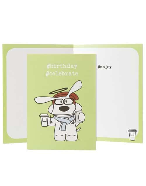 Greeting Card: Birthday, BOLO Hipster