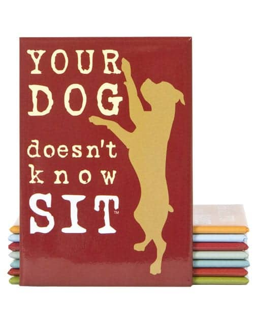 Magnet: Your Dog Doesn't Know Sit