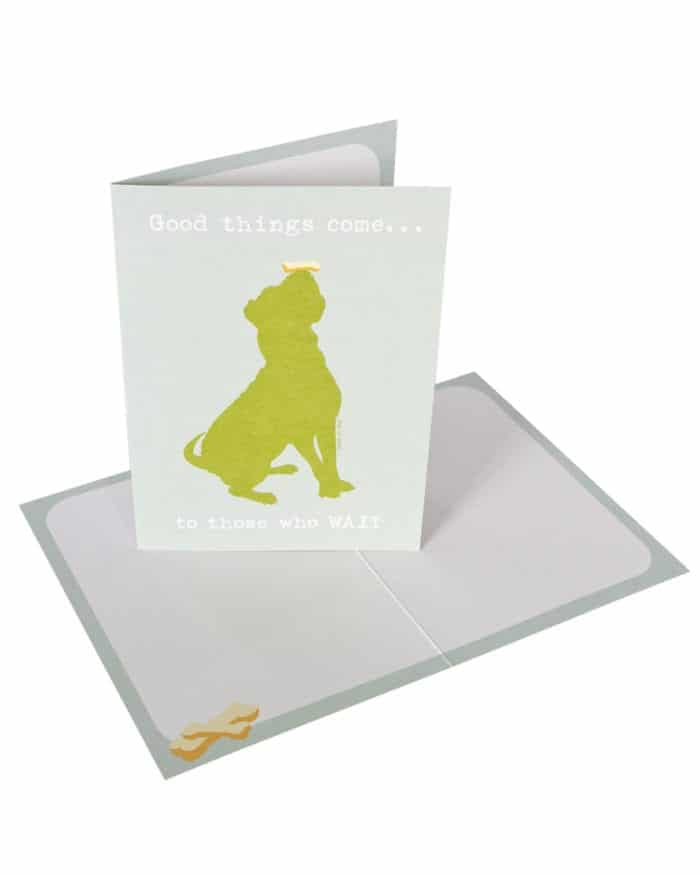 Greeting Card: Good Things Come