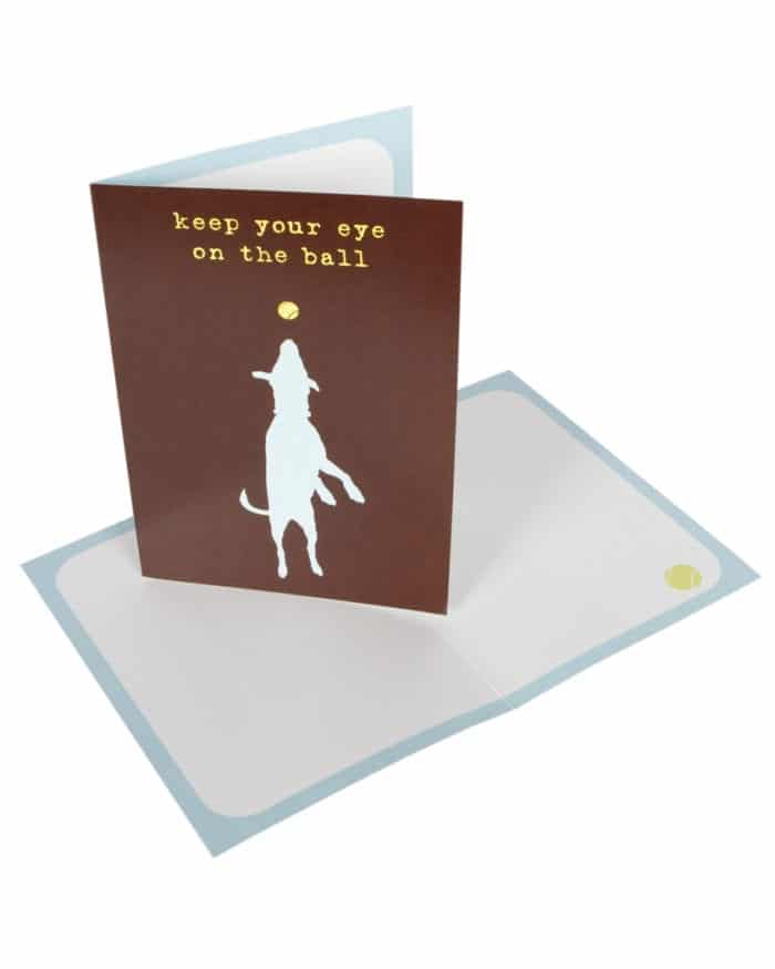 Greeting Card: Keep Your Eye on the Ball