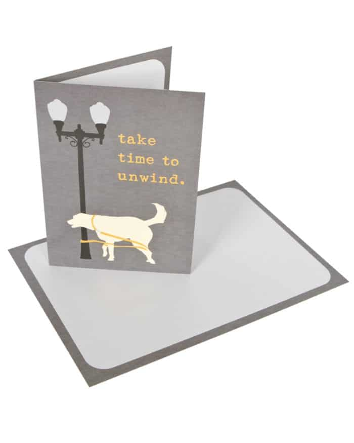 Greeting Card: Take Time to Unwind