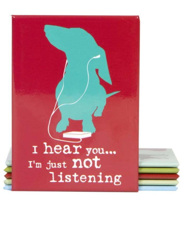 Magnet: I'm Not Listening (Dog)