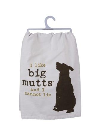 Dish Towel: I Like Big Mutts