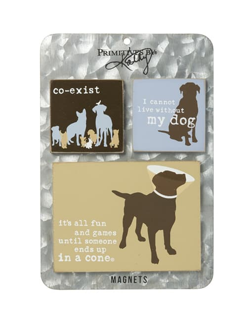 Magnet Set: Co-Exist, Cannot Live, Fun and Games