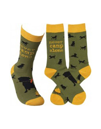 Socks: Never Camp Alone