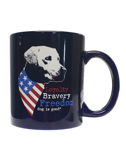 Mug: Freedom Dog