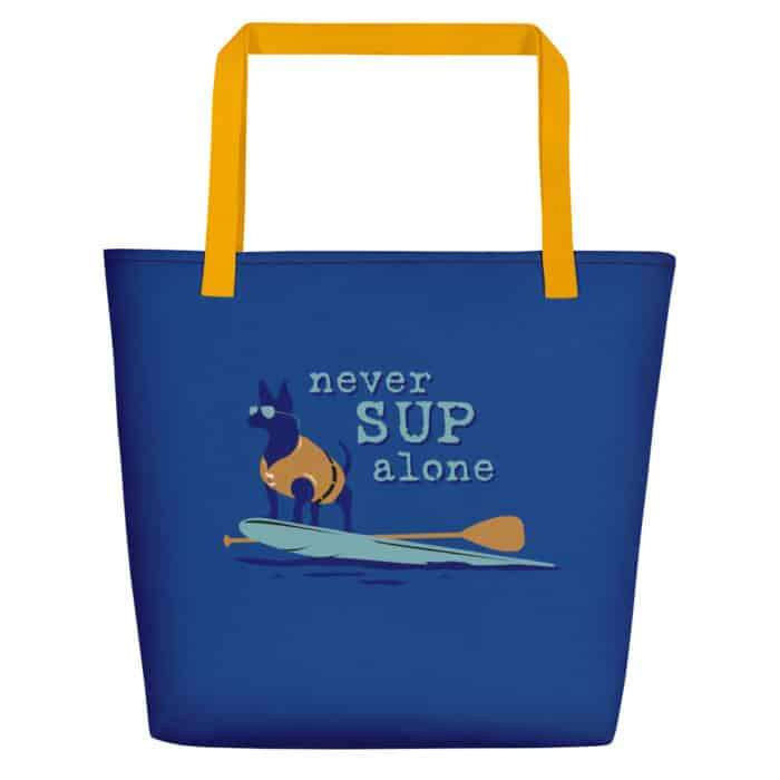Beach Tote: Never SUP Alone