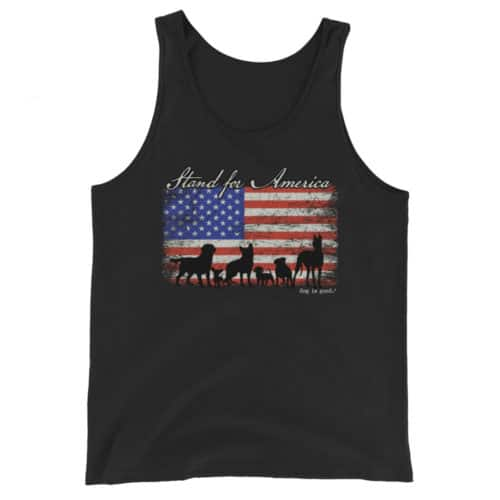 Tank: Stand for America Unisex
