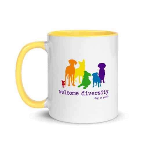 Mug: Welcome Diversity Pride
