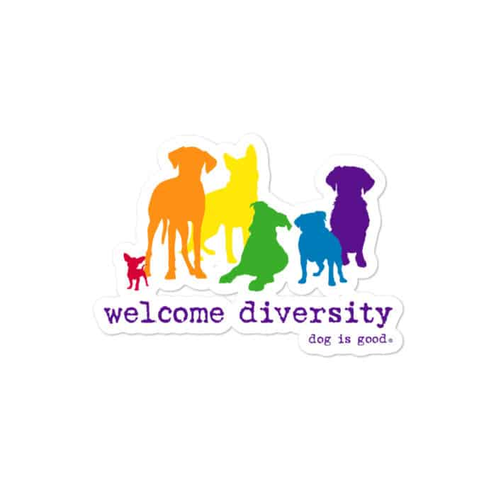 Sticker: Welcome Diversity Pride