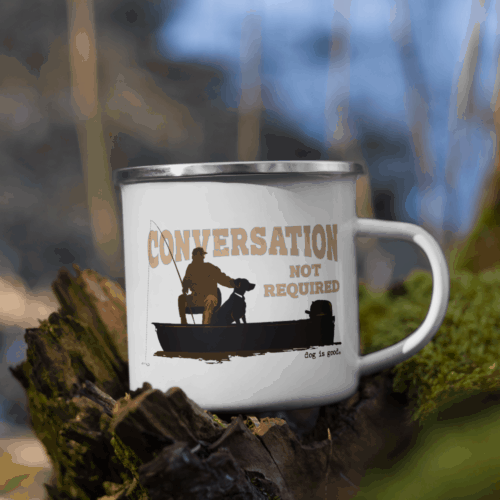 Mug: Conversation Not Required