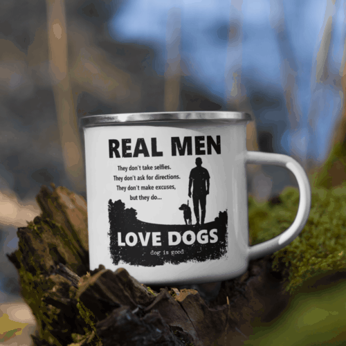 Mug: Real Men Love Dogs