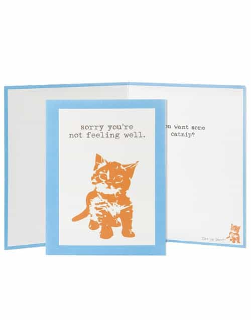 Greeting Card: Want Catnip (Cat)