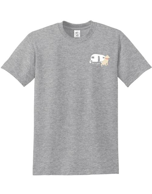 T-shirt: Never RV Alone (unisex)