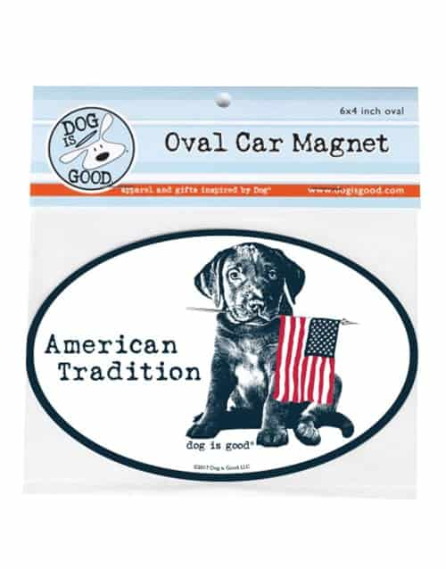 Car Magnet: American Tradition