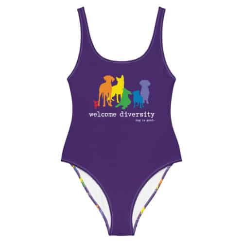 Swimsuit: Welcome Diversity Pride
