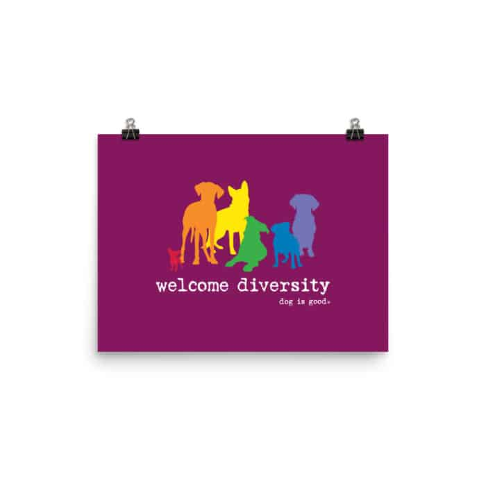 Poster: Welcome Diversity Pride