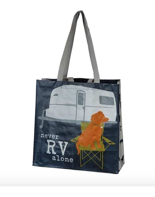 Market Tote: Never RV Alone