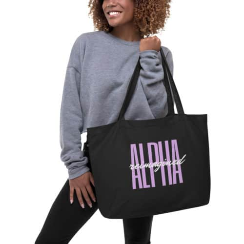 Tote Bag: Alpha Reimagined Signature