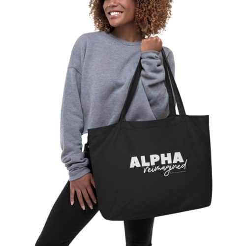 Tote Bag: Alpha Reimagined
