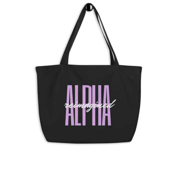 Tote Bag: Alpha Reimagined Signature