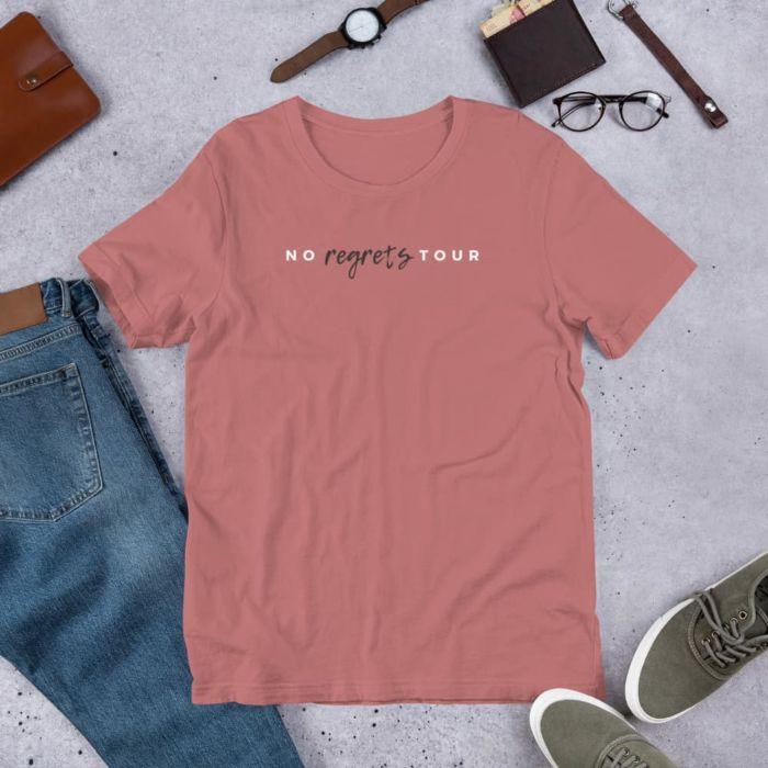 T-shirt: No Regrets Tour Women's (Mauve)