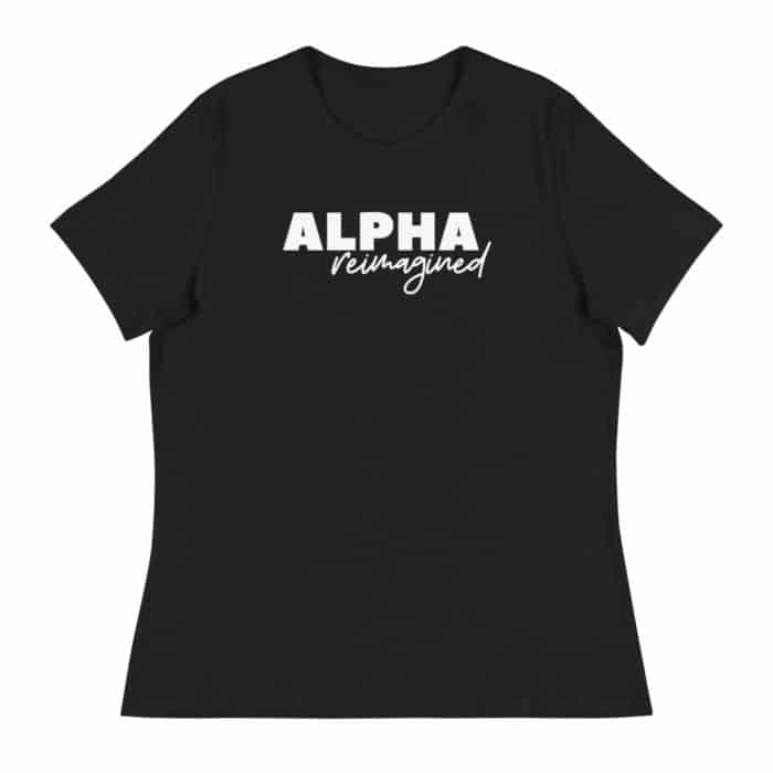 T-shirt: Alpha Reimagined (Black)