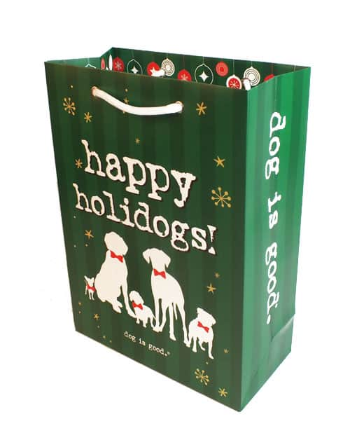 Gift Bag: Happy Holidogs