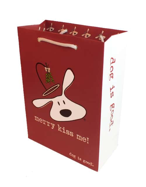 Gift Bag: Merry Kiss Me