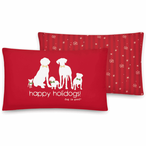 Pillow: Happy Holidogs