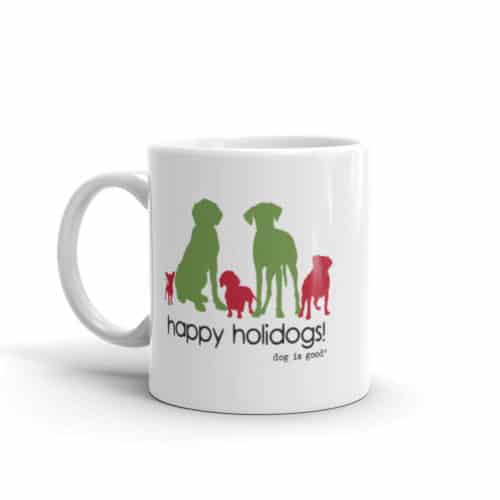 Mug: Happy Holidogs