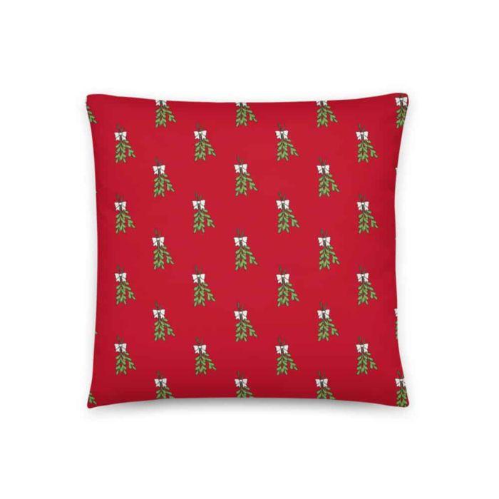 Pillow: Merry Kiss Me