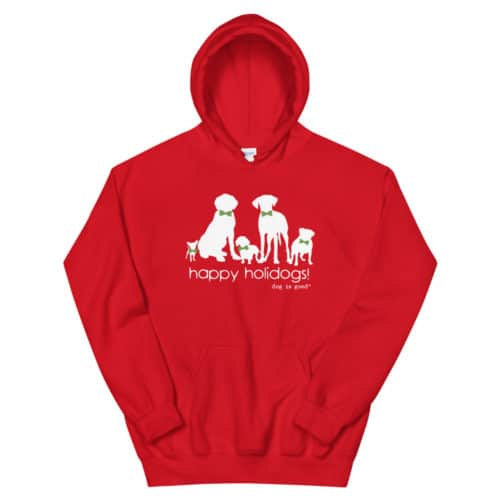 Sweatshirt: Happy Holidogs