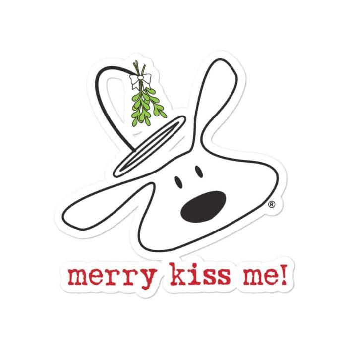 Sticker: Merry Kiss Me