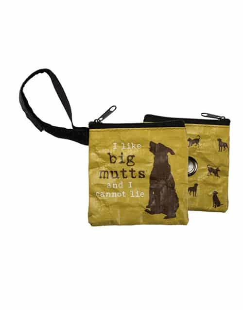 Waste Bag Pouches: I Like Big Mutts