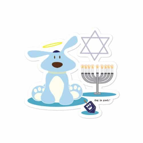 Sticker: Bolo Hanukkah