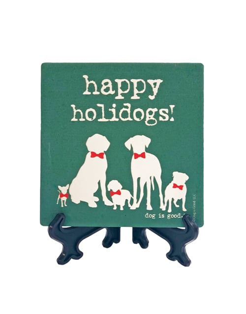 Happy Holidogs (stone)