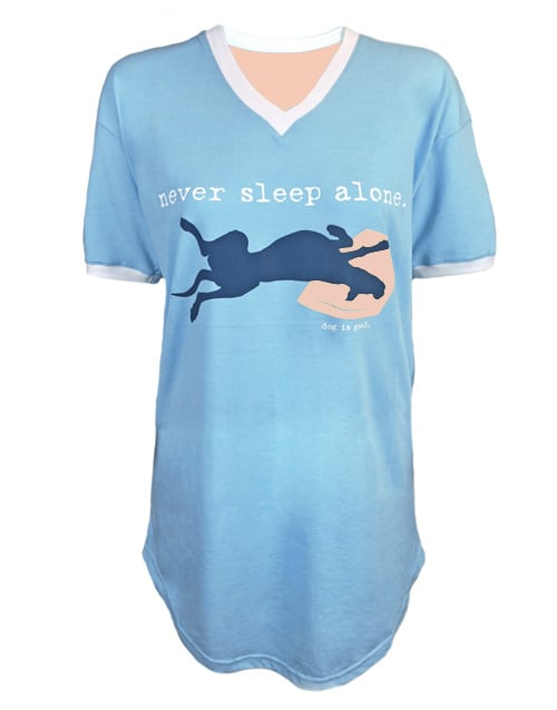 Never Sleep Alone (light blue)