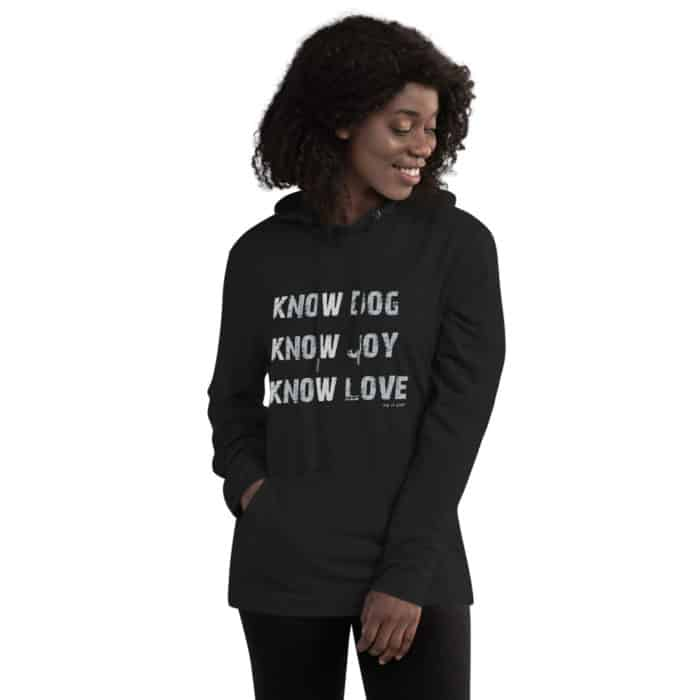 Tunic Hoodie: Know Dog, Know Love (Women's)
