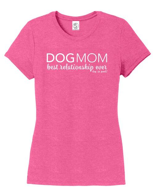 Dog Mom (women's, fuschia)
