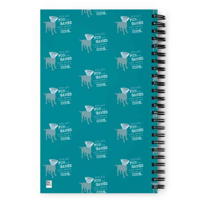 Notebook: Fun and Games (Teal)