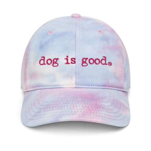 Hat: Dog is Good Signature Tie Dye (Cotton Candy)