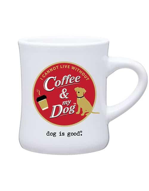 Mug: I Cannot Live Without Coffee and My Dog